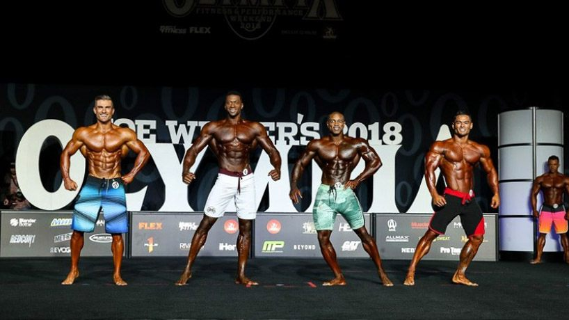 Mr. Olympia Men's Physique 2018 — четверка финалистов