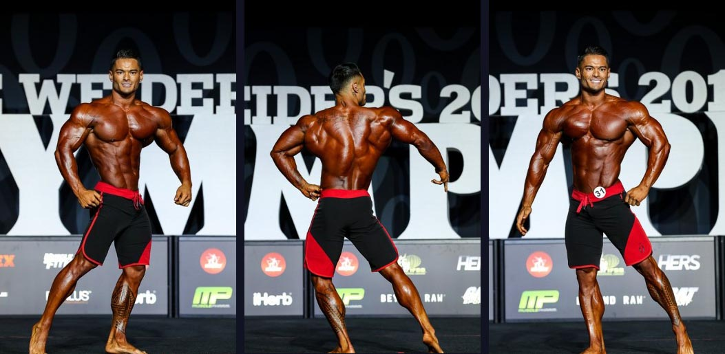 Джереми Буэндиа (Jeremy Buendia) Men's Physique Olympia 2018