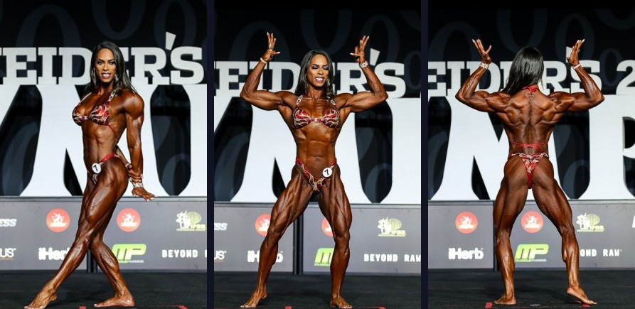 Daniely Castilho — Womens Physique Olympia 2018