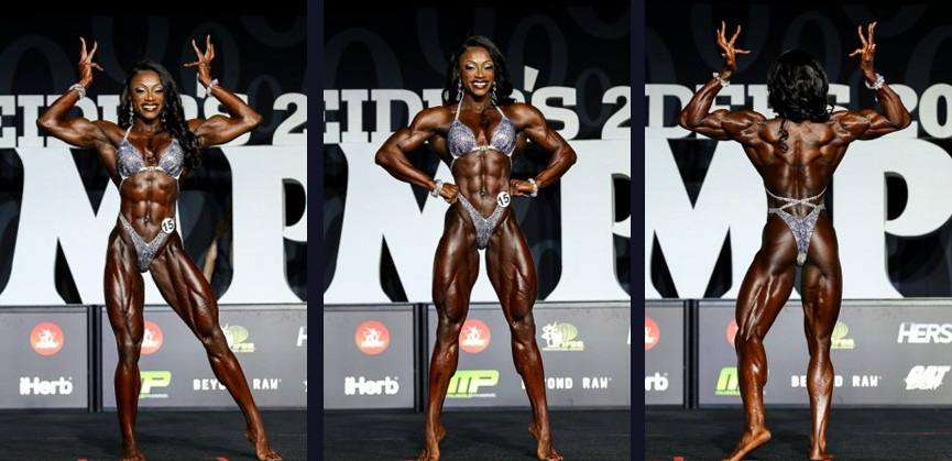 Shanique Grant — Womens Physique Olympia 2018