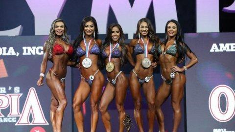Результаты Bikini Olympia 2018