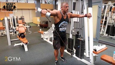 Продвинутая тренировка плеч и трапеций - Станислав Линдовер