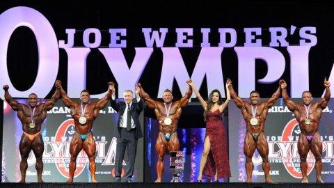 Результаты турнира Mr. Olympia 2018 в категории 212 lb