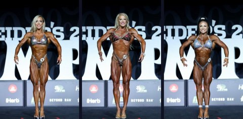 Результаты Fitness Olympia 2018: Ryall Graber, Whitney Jones, Myriam Capes