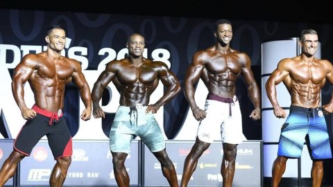 Результаты турнира Mr. Olympia 2018 в категории Men's Physique
